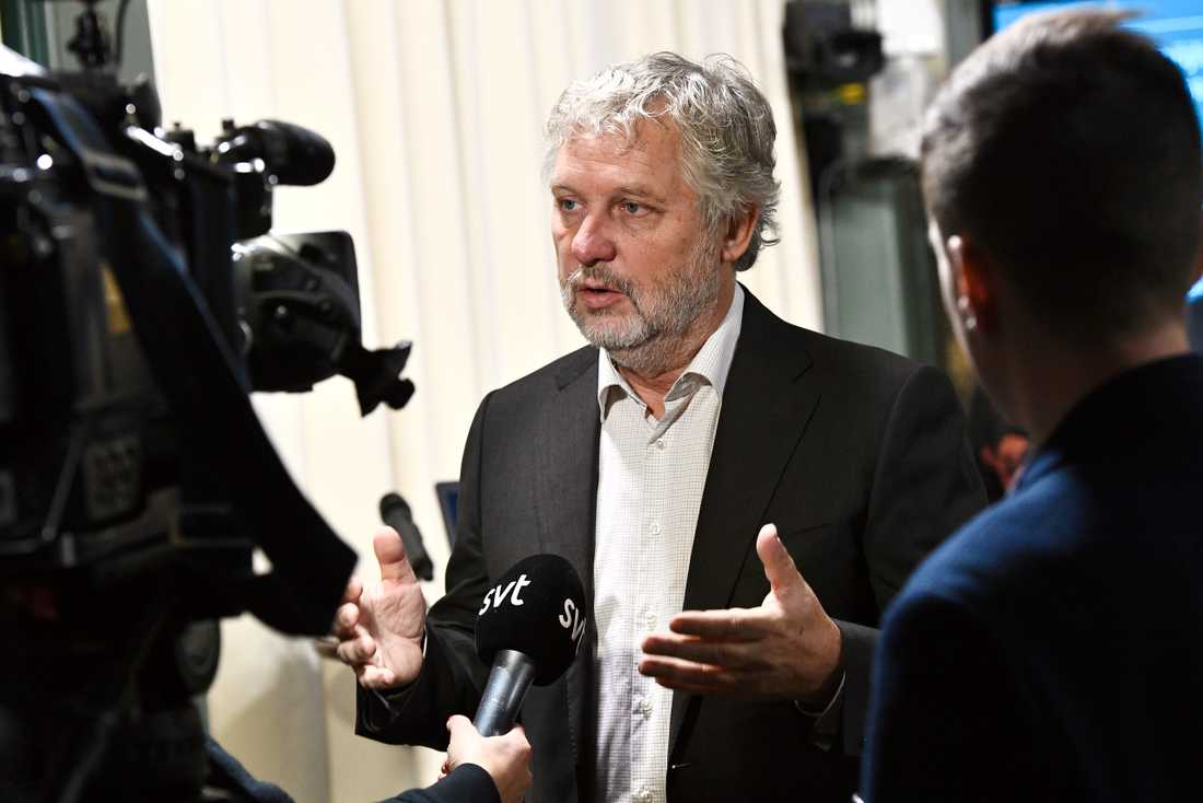 Bostadsminister Peter Eriksson (MP) är fortfarande tveksam till att införa strängare amorteringskrav. Arkivbild