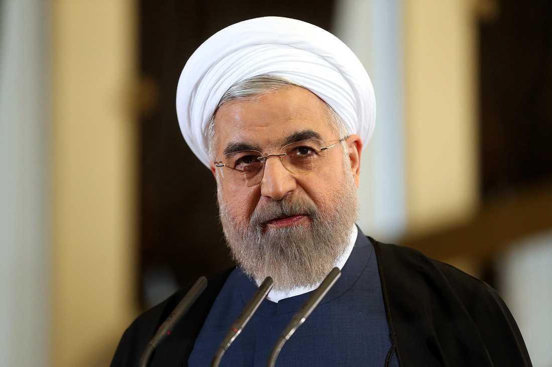 Hassan Rouhani, Irans president.