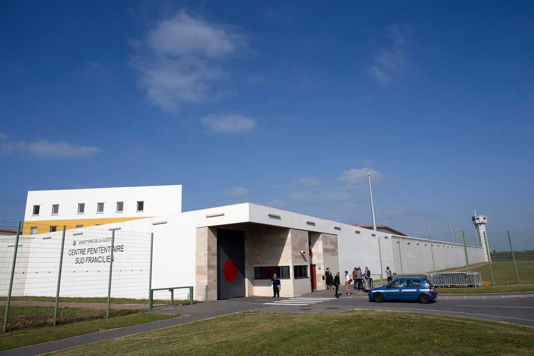 Fängelset i Réau som mannen har flytt ifrån.