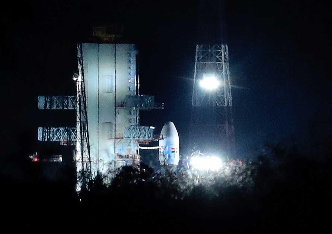 Chandrayaan-2 har lyft.