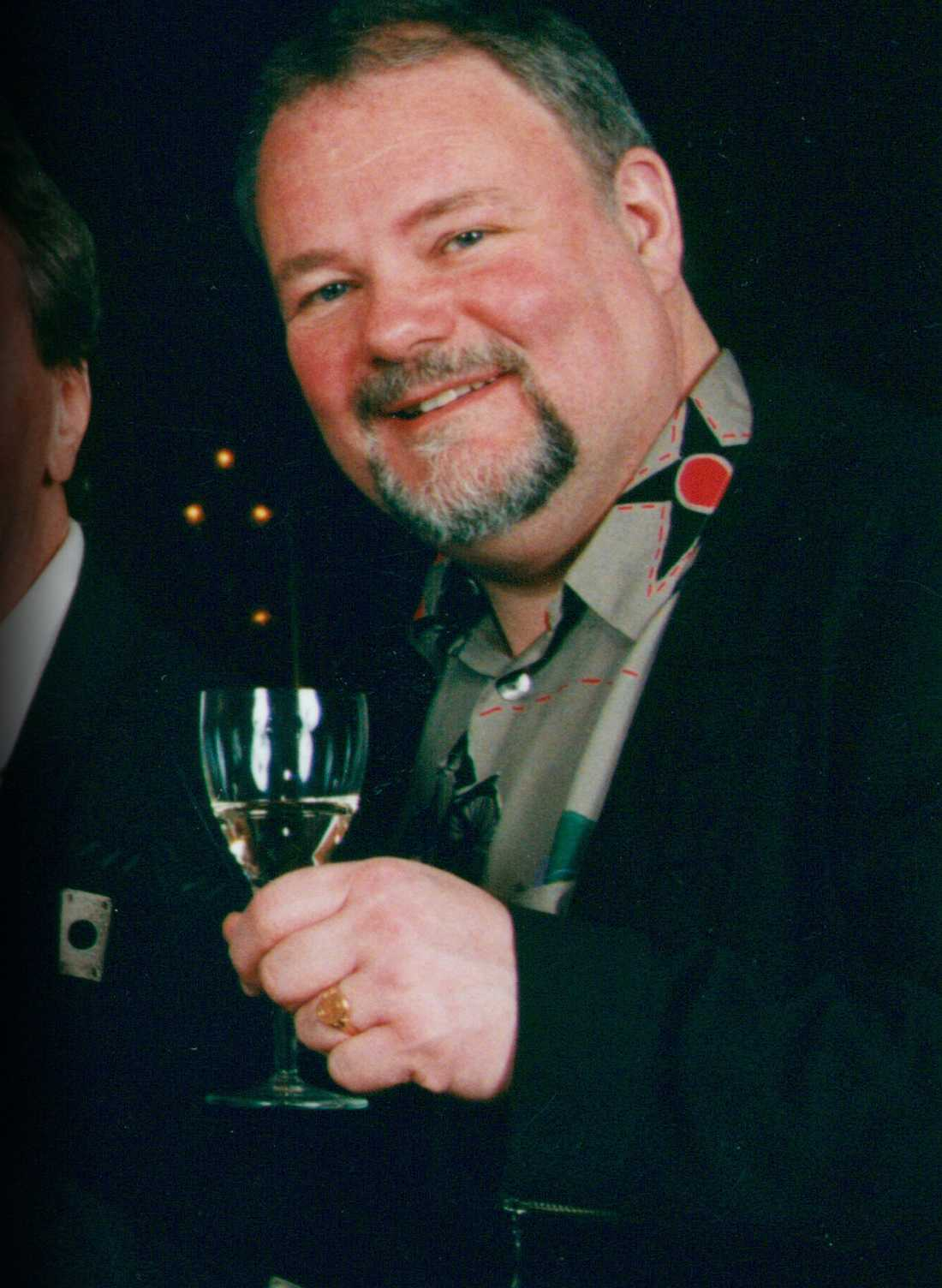 Thommy Gustafsson från bandet Sven-Ingvars.