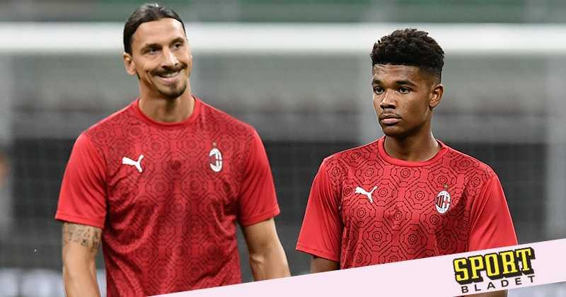 Emil Roback tackar Zlatan efter första Milanåret