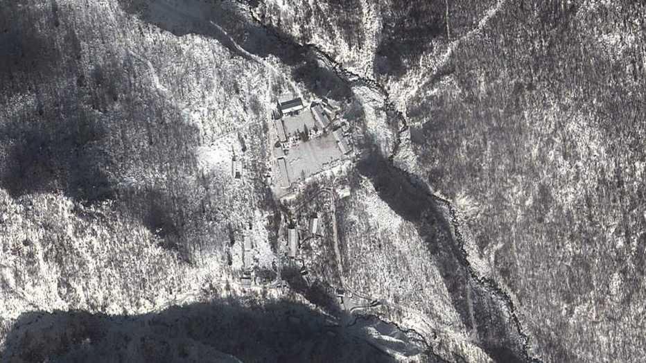 Här kan Nordkorea gömma en underjordisk kärnanläggning.