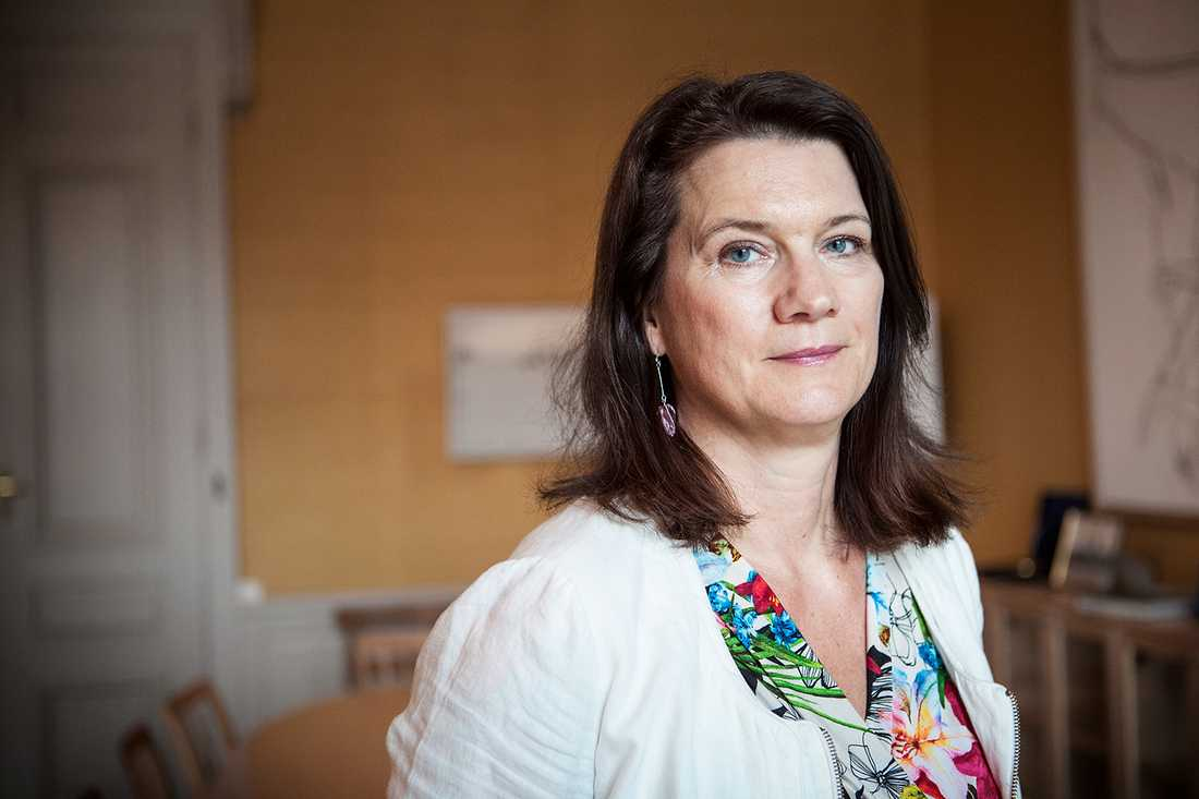 EU-minister Ann Linde (S). Betyg: 2,5 (Ny)