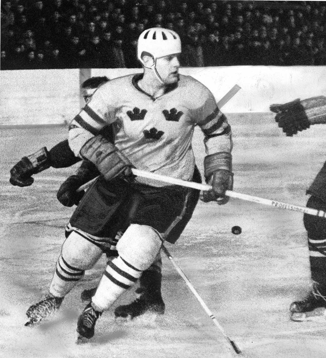 Ulf Sterner gjorde 189 landskamper för Tre Kronor