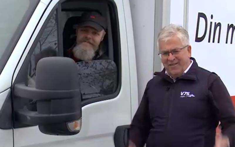 Janne Zetterblad tillsammans med ATG:s vinnarambassadör Hans G Lindskog