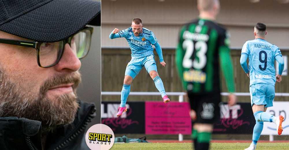 """Jocke Persson om Varbergs spelprogram: """"Italiensk lottning"""""""