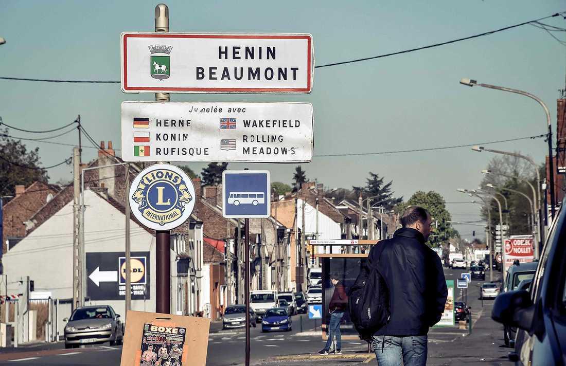 Hénin-Beaumont är ett av Nationella Frontens starkaste fästen i landet.