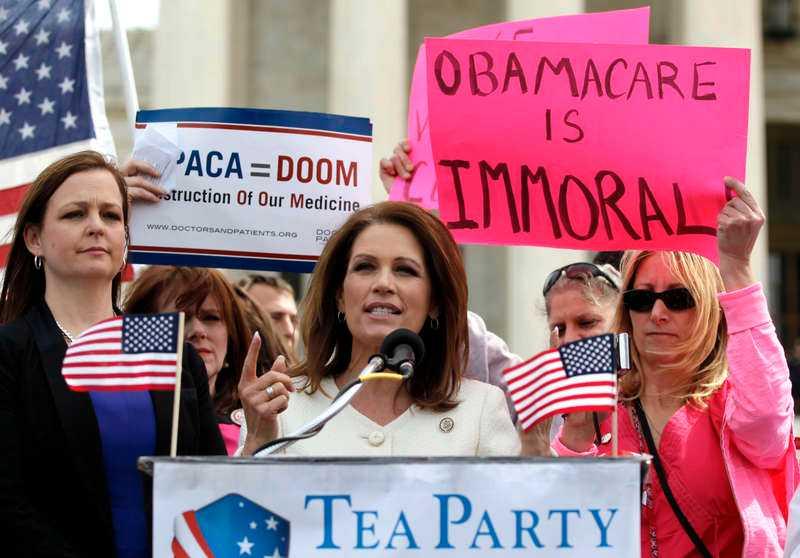 Tea party-ledaren Michele Bachmann.