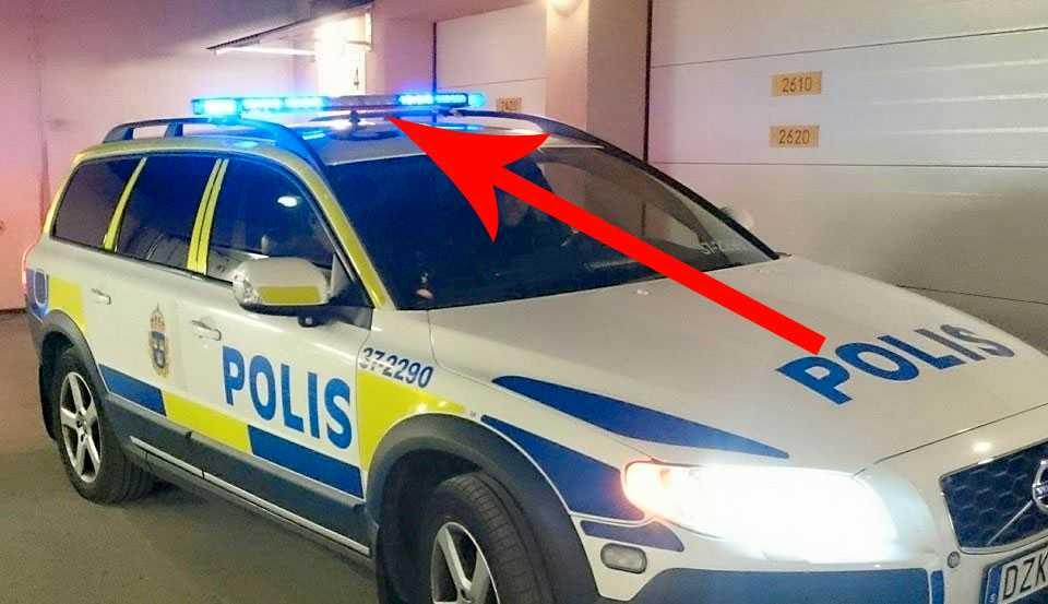 polisen blåljus