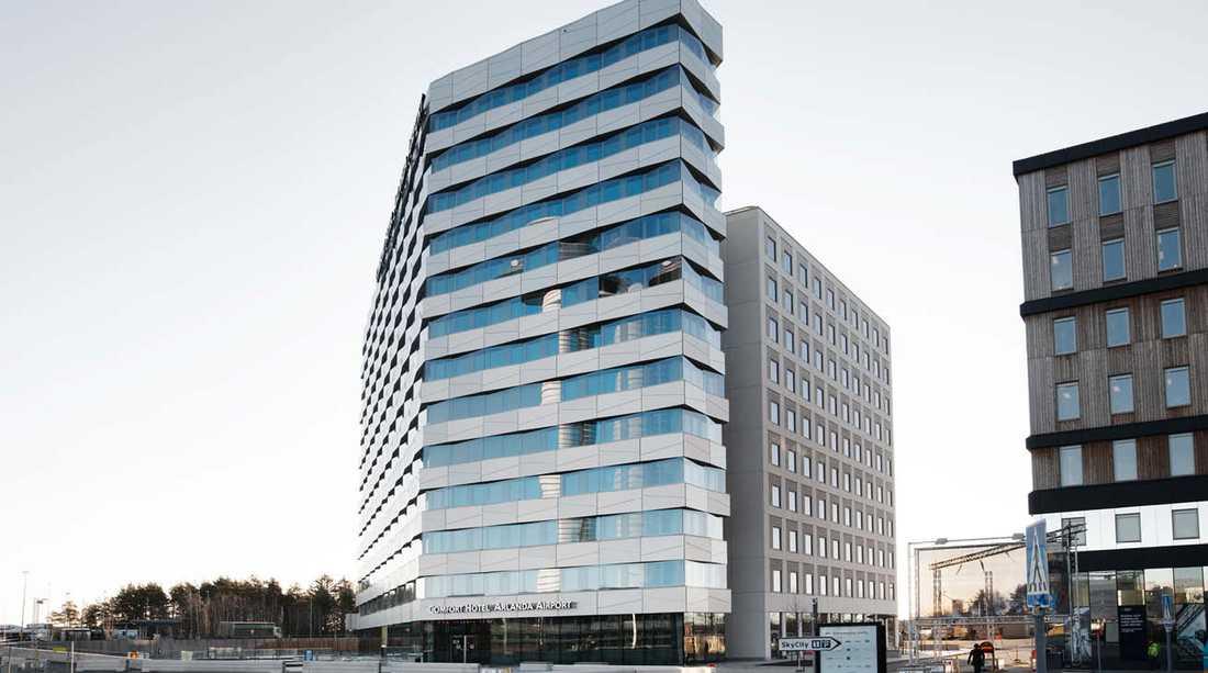 Det nya hotellet öppnade 30 januari.