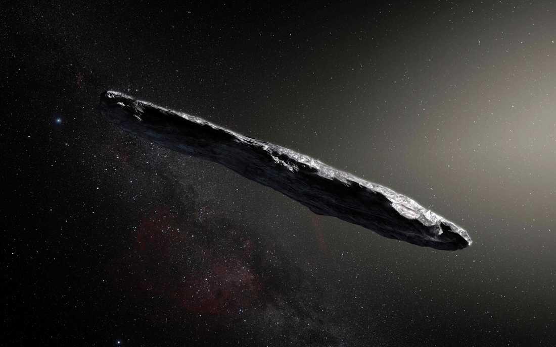 Två forskare vid Harvard Smithsonian Center for Astrophysics på Harvard University i USA har en teori om vad Oumuamua egentligen är för något.