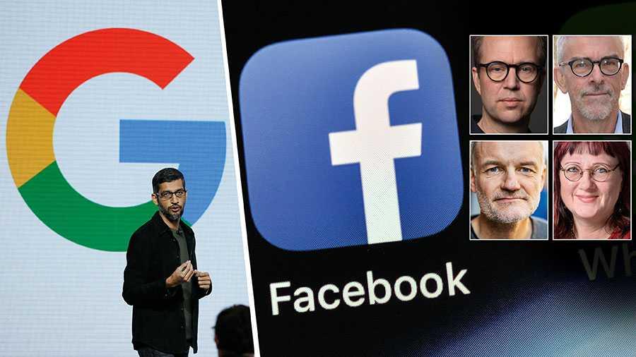 Medieutvecklingen rusar framåt – men våra politiker har lämnat walkover. Ska globala företag som Facebook och Google få styra den svenska medieutvecklingen utan reaktioner från svensk mediepolitik? skriver Olle Lidbom, Lars Nord, Lars Truedson och Ingela Wadbring.