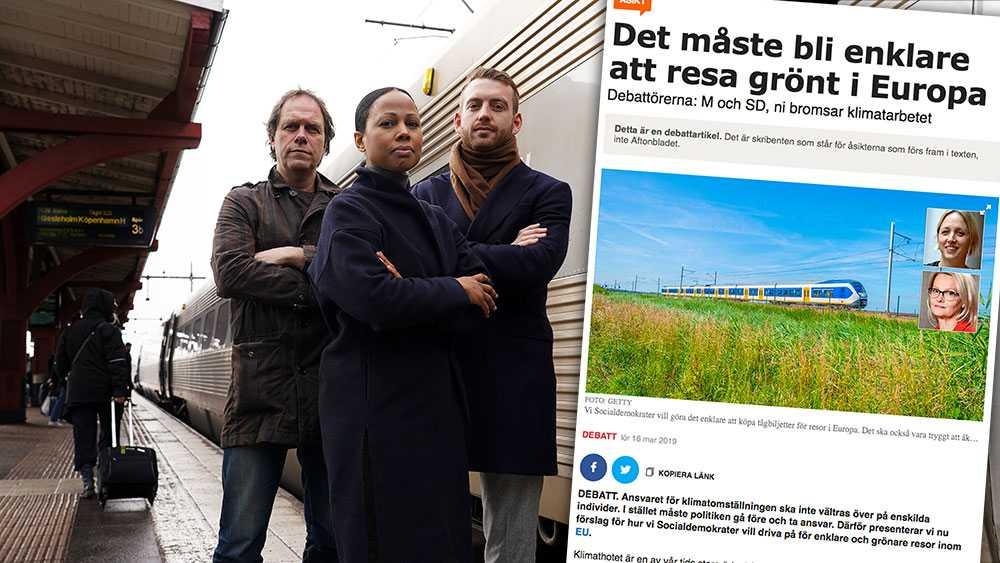 Vi noterar med viss förvåning att två av de tre klimatreformer som S lovar sina väljare att driva i EU redan genomförts av Miljöpartiet, skriver Alice Bah Kuhnke, Pär Holmgren och Jakop Dalunde (MP).