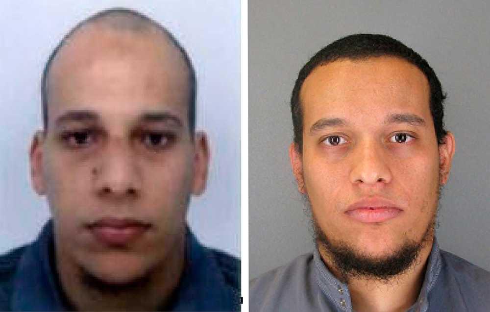 Terroristbröderna Said och Cherif Kouachi som låg bakom attentatet mot satirtidningen Charlie Hebdo sköts ihjäl när polis stormade en byggnad där de förskansat sig med gisslan.