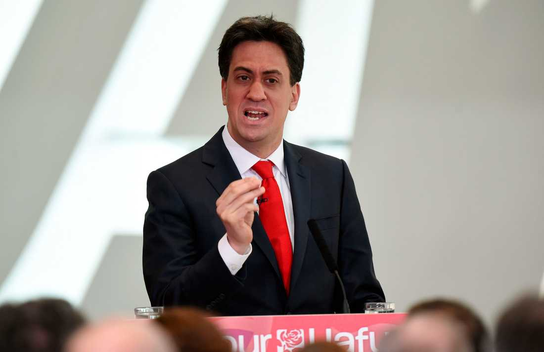 Labour-ledaren Ed Miliband.