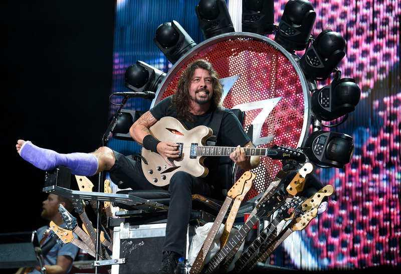 Foo Fighters spelar på Ullevi igen.