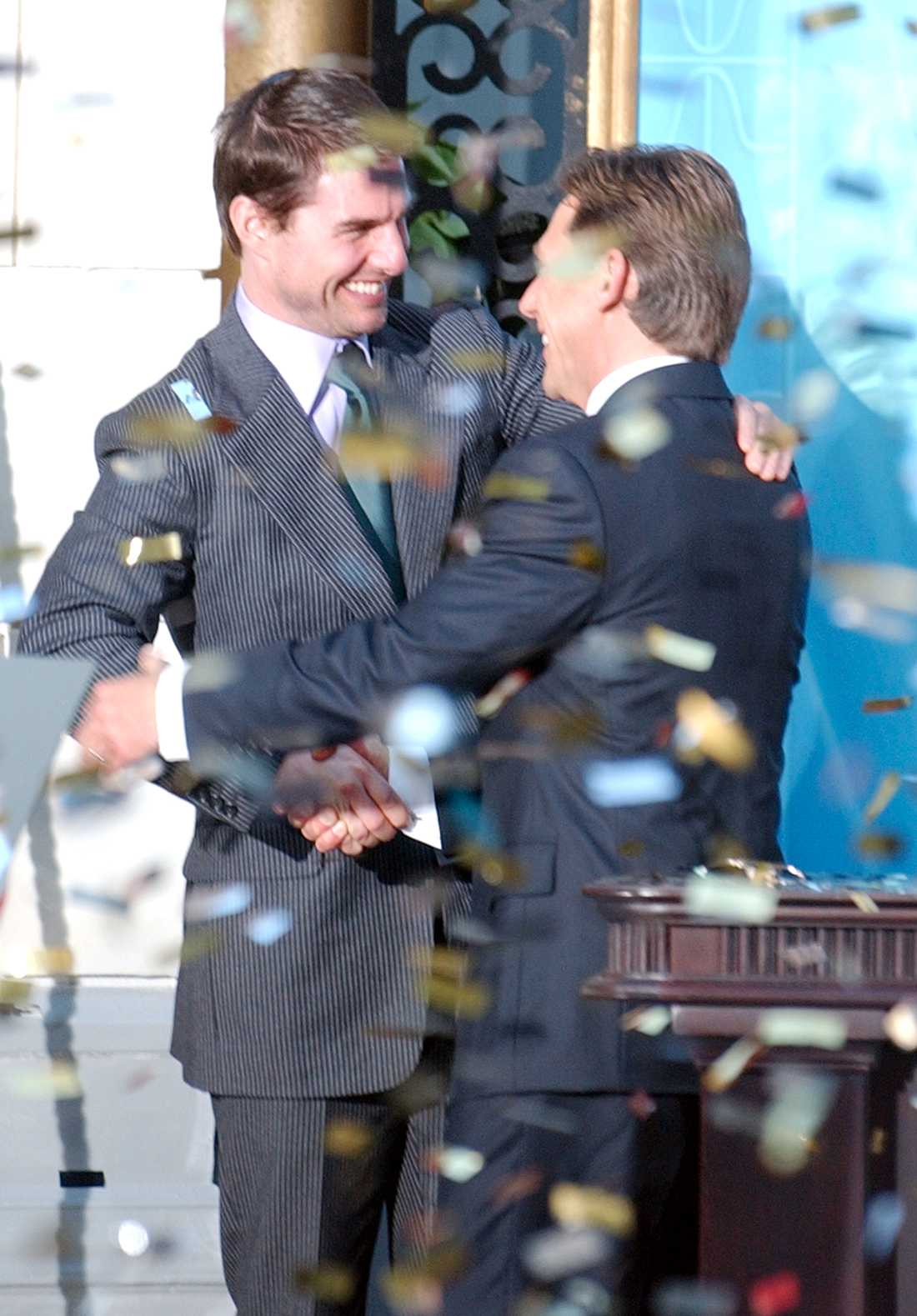 Tom Cruise och David Miscavige.
