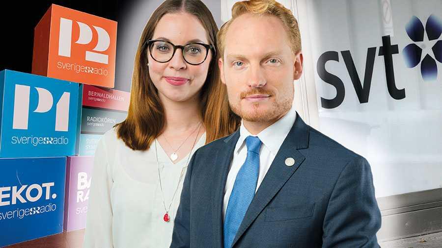 Debatten kring public service utlöser krokodiltårar från politiskt och medialt håll. Ni borde i stället lyssna på SD:s sakpolitik i frågan, skriver Aron Emilsson och Angelika Bengtsson.