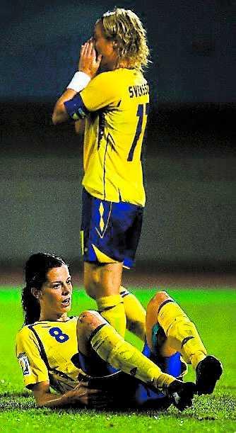 Svensson och Schelin deppar.