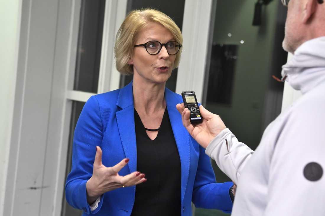 Elisabeth Svantesson är Moderaternas ekonomiskpolitiska talesperson.