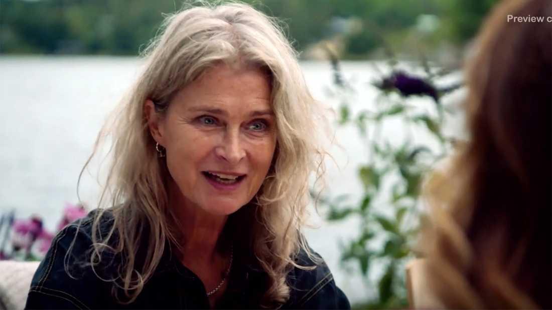 """Lena Endre i """"Renées brygga""""."""