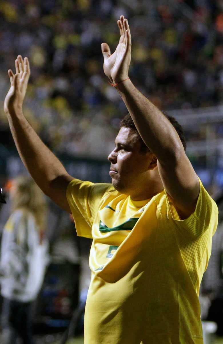 Ronaldo gjorde 15 minuter och missade tre lägen.