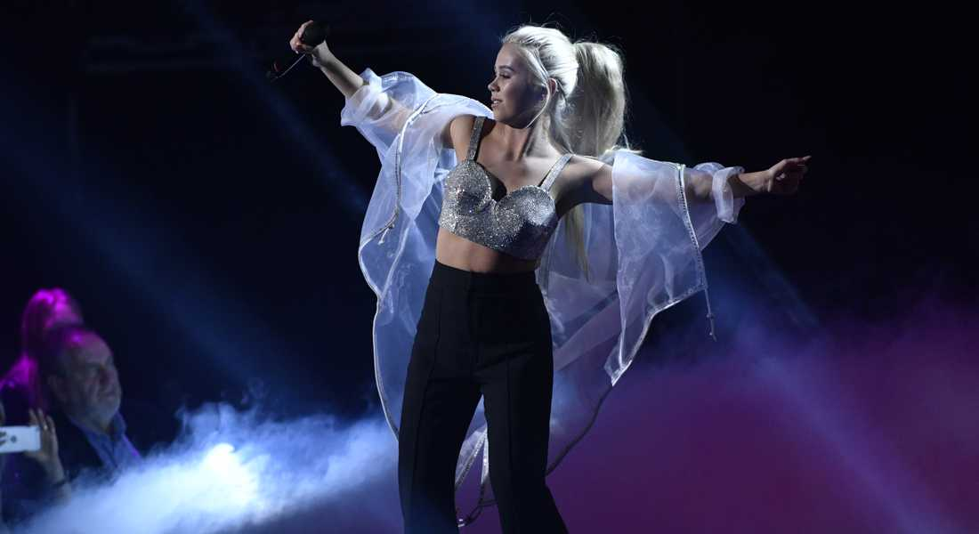 Lisa Ajax i Melodifestivalen 2017