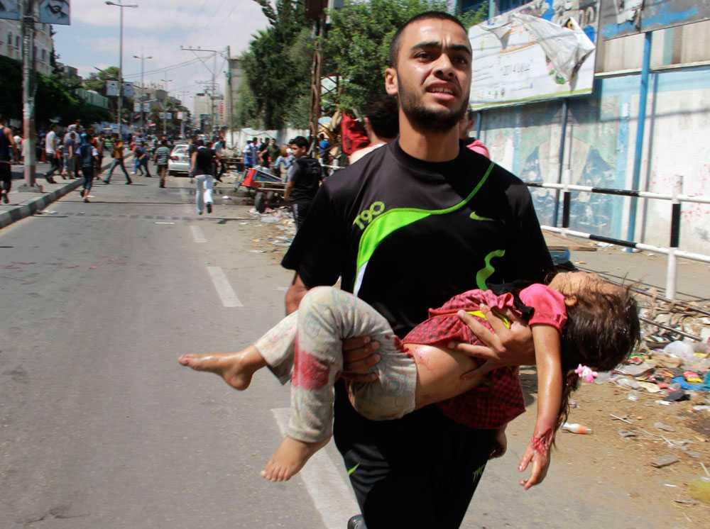 Söndagen den 3 augusti attackerar den israeliska militären åter en FN-skola, nu i staden Rafah. Flera människor dör. FN, USA och Frankrike fördömer attacken. Enligt Al Jazeera säger den israeliska armén att det fanns militanter i närheten av skolan.