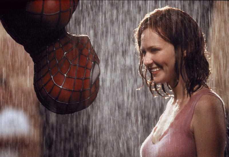 """4. Tobey Maguire och Kirsten Dunst i""""Spiderman"""""""