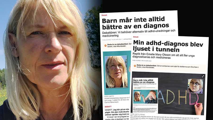 Min oro kvarstår och har snarare förstärkt efter att ha tagit del av en mängd läsares reaktioner vilka beskriver slarvigt ställda diagnoser, frånvaro av alternativ till psykiatrisk behandling och svårartade effekter av psykofarmaka. Slutreplik från Carina Håkansson.