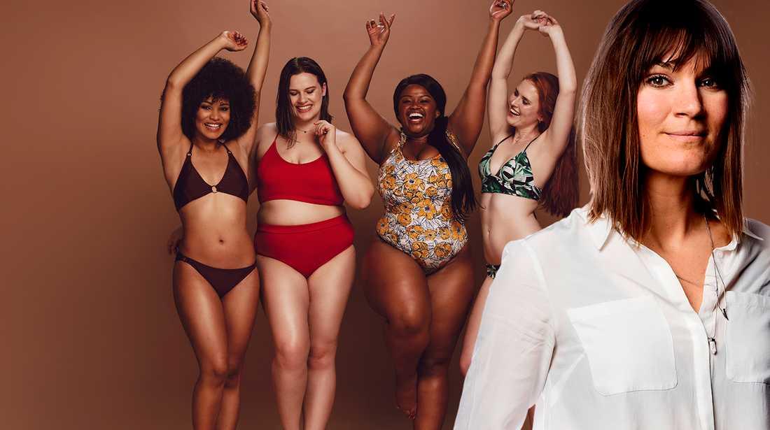 Malin Wollin skriver att blir ett moment 22 när vi skriver om kvinnors kroppar.
