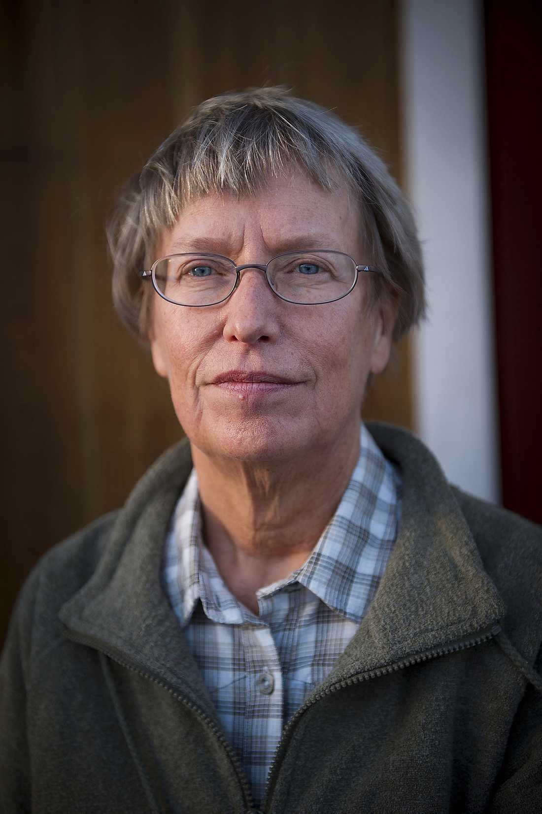 """""""Fel, fel, fel"""", säger Annika Dahlqvist."""