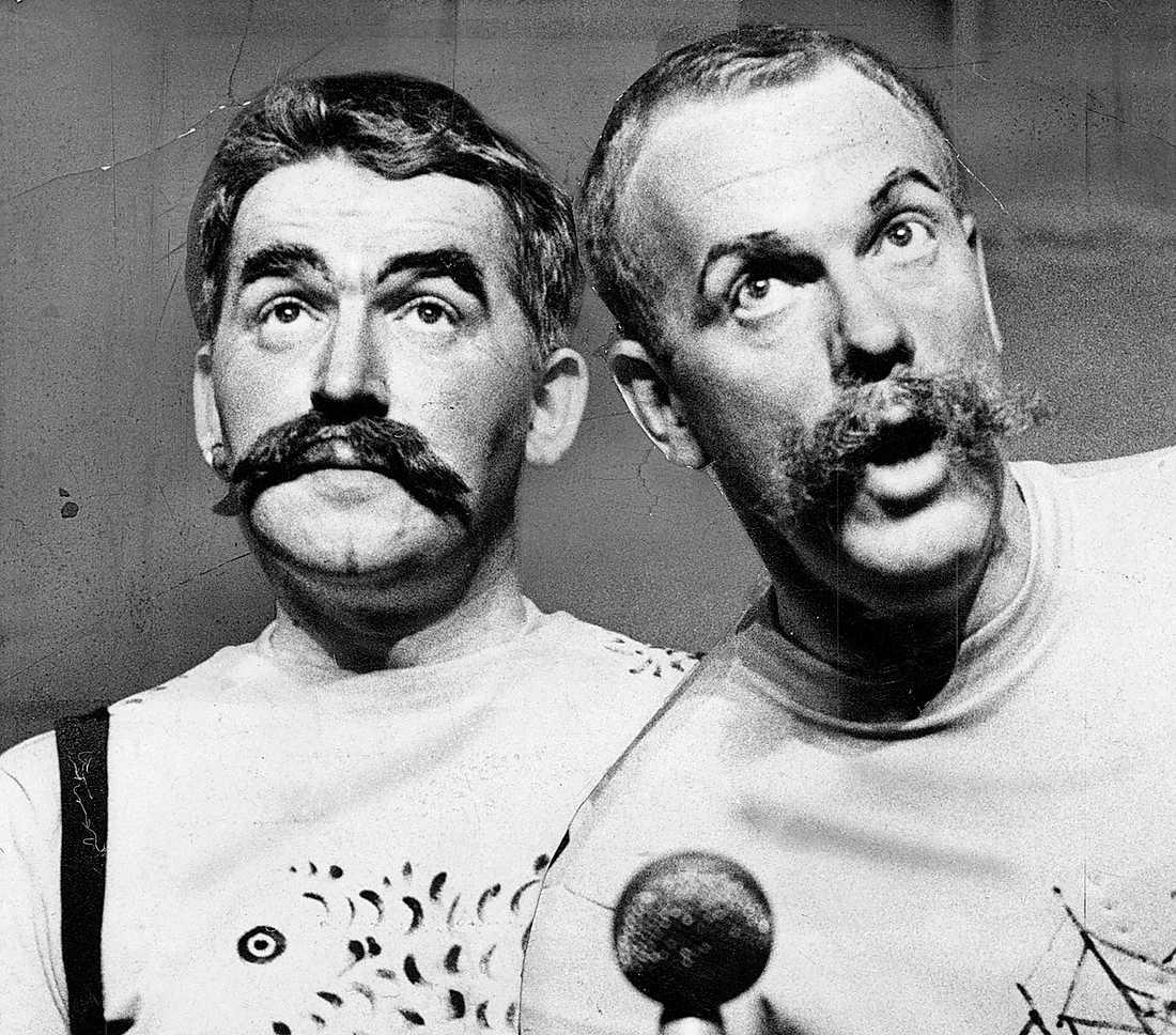 """Som revymakare: """"Gula hund"""" (1964)."""