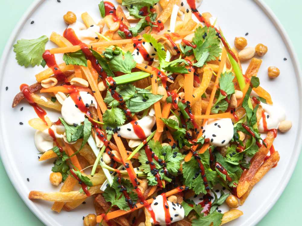 Banh mi fries