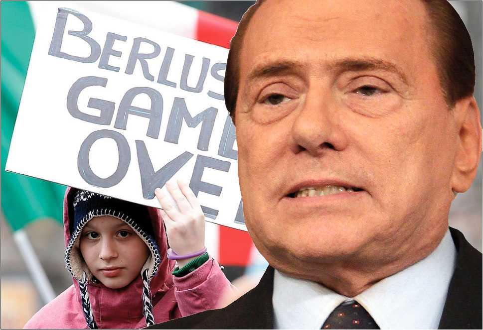 game over? Silvio Berlusconi har tyckts vara orubblig – trots skandaler och anklagelser har han behållit makten. Men nu känner allt fler italienare att det går vara nog. Den 6 april ställs han inför rätta för sina sexaffärer och sitt maktmissbruk.