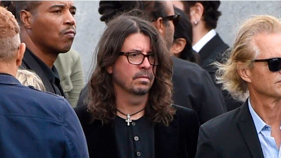 Foo Fighters frontman Dave Grohl.
