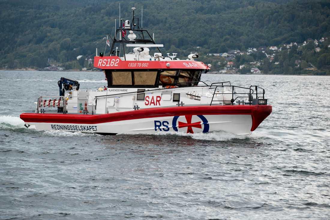 En av redningsselskapets, norska sjöräddningssällskapets, båtar. Arkivbild.