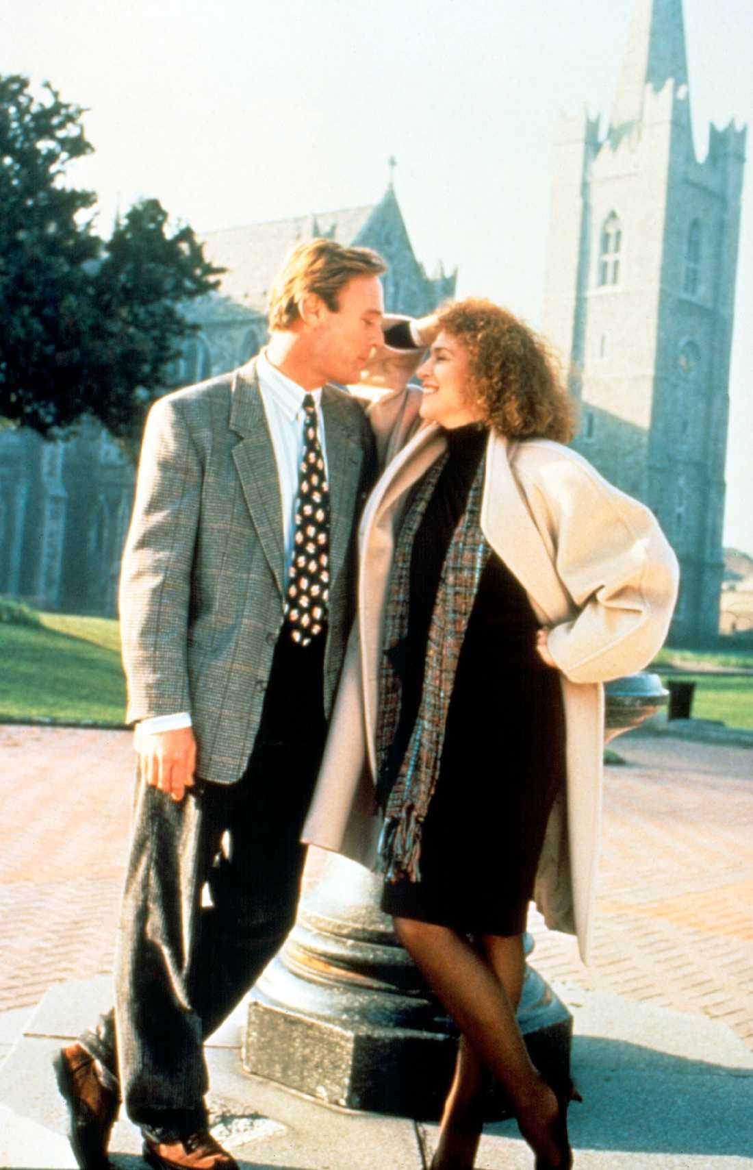 """A FINE ROMANCE"" MED CHRISTOPHER CAZENOVE OCH MARGARET WHITTON"