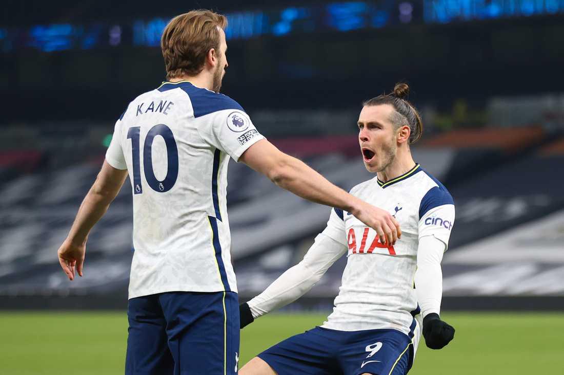 Harry Kane och Gareth Bale hade stor show mot Crystal Palace.
