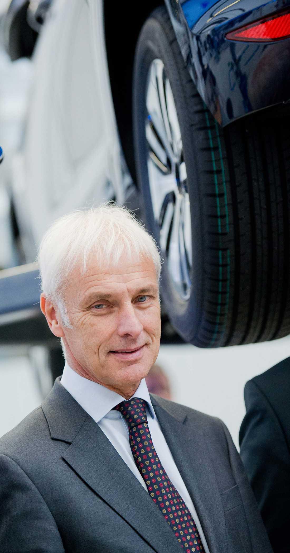 Volkswagens vd Matthias Müller.