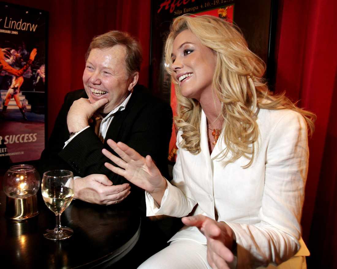 Bert Karlsson och Jessica Andersson