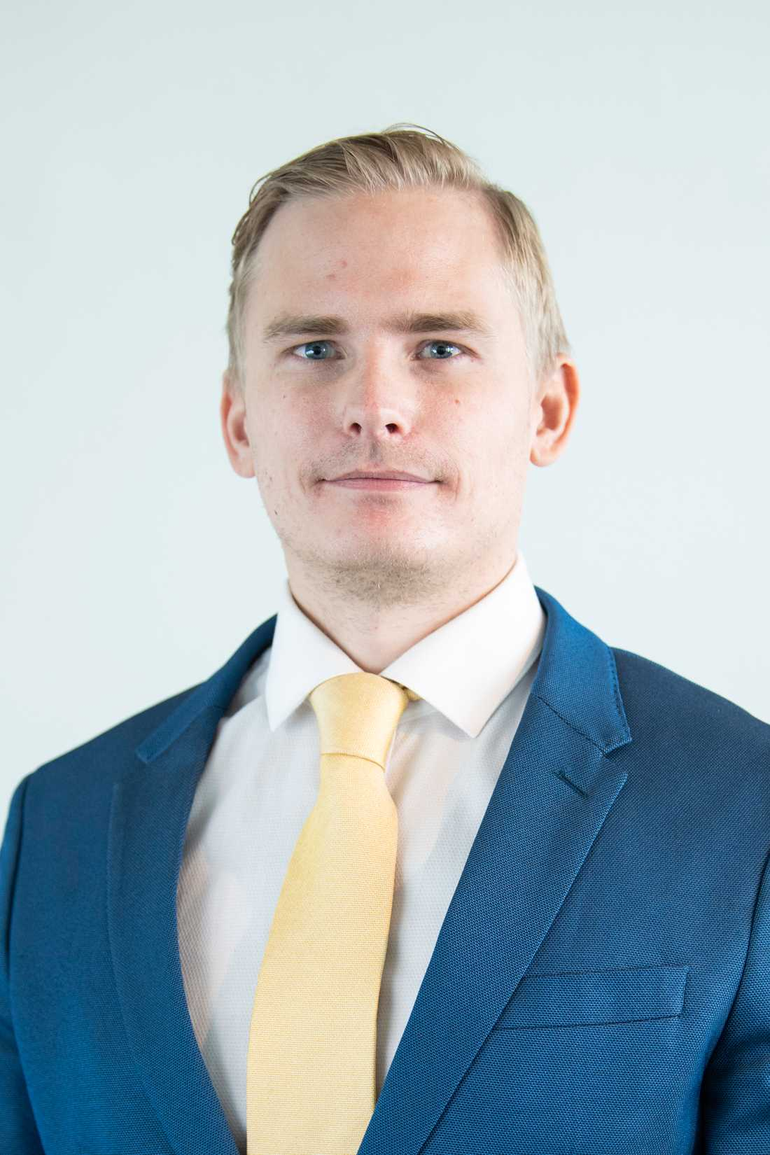 Henrik Gustafsson.