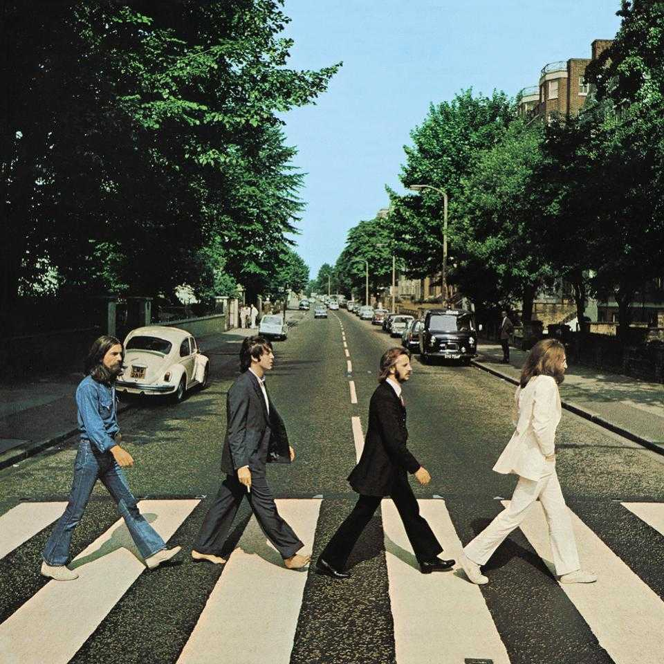 Abbey Road med felparkerad Bubbla