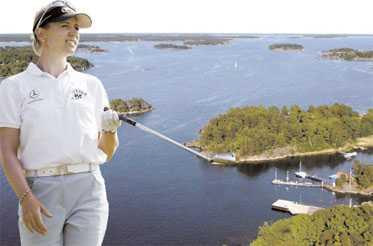 Letar efter sommarbostad I?dag inleder Annika Sörenstam jakten på sin andra major i Maryland, USA. Hon jagar även efter en sommarbostad i Sverige.