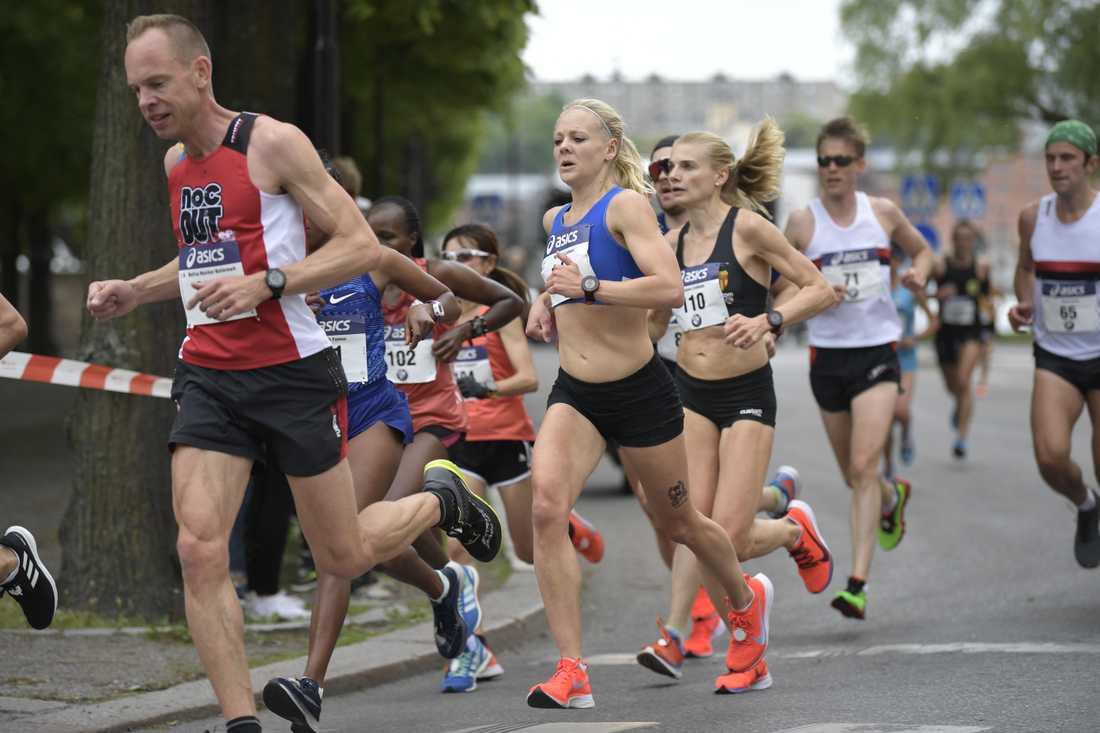 Stockholm Marathon är ett av motionsloppen som planeras att genomföras i höst men har flyttats på grund av coronapandemin. Arkivbild.