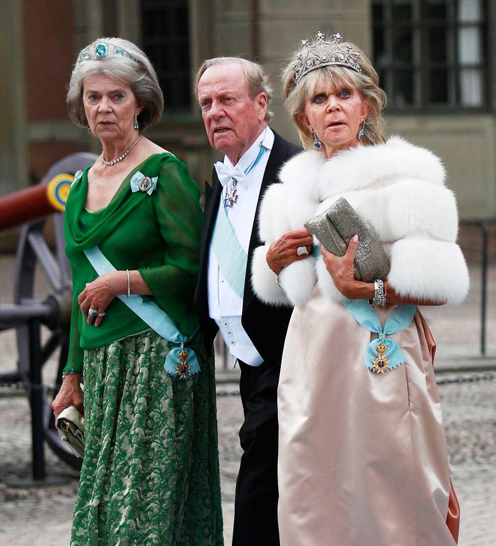 Systrarna var även på plats under kronprinsessan Victorias bröllop 2010.