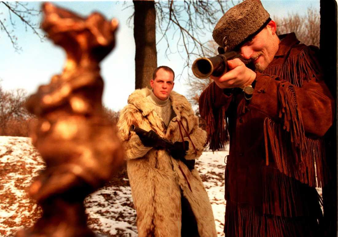 Skjutglada Nordman ställer in siktet 1996.