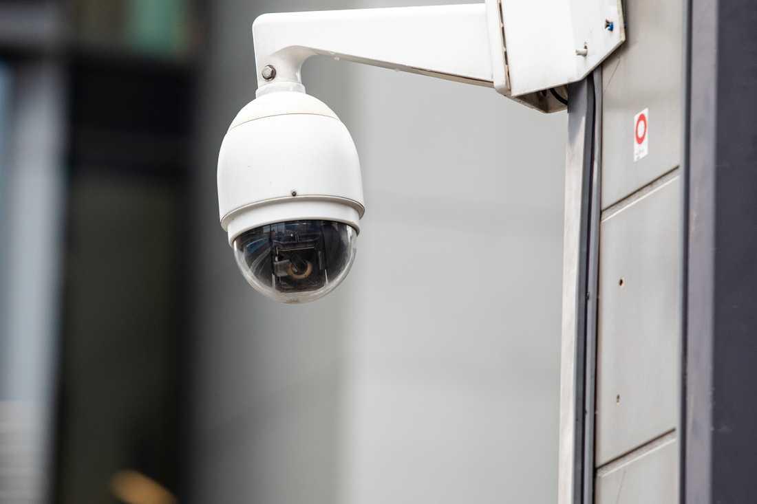 Övervakningskamera. Arkivbild.