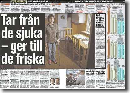 Aftonbladet 12 oktober.